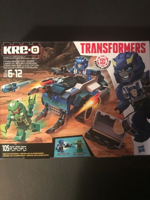Kre-o Transformers Strongarm Capture Cruiser Building Set Hasbro 2014 NEw Boxed