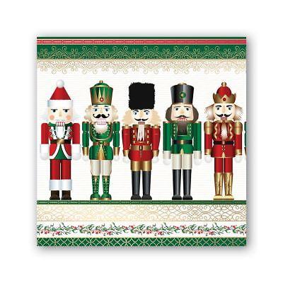 Michel Design Works 20 Triple-Ply Paper Cocktail Napkins Christmas O Tannenbaum