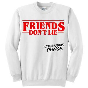 Felpa LieStranger Serie Unisex Friends O Donna Things Uomo Don't 0wkXO8nP