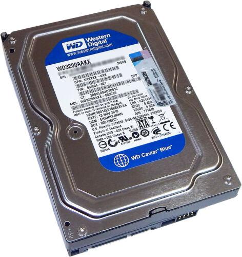 HP 320GB SATA-3 6GB//s 72k Hard Drive New 637326-001 634604-001 WD3200AAKX