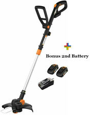WORX WG170.2 20V GT Cordless Trimmer/Edger + Free Bonus Battery Certified Refurb