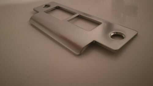 SATIN CHROME Onity GUEST ROOM DOOR STRIKE PLATE HE500300 NEW