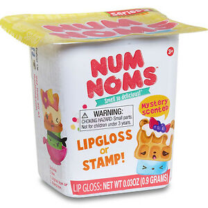 Num Noms Series 2 Mystery Pack Random Blind Box Lipgloss Stamp New