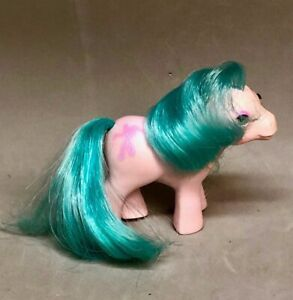MLP-My-Little-Pony-Baby-Bonnet-Ballet-Dance-Studio-Beddy-Bye-Blinking-Eyes-1986