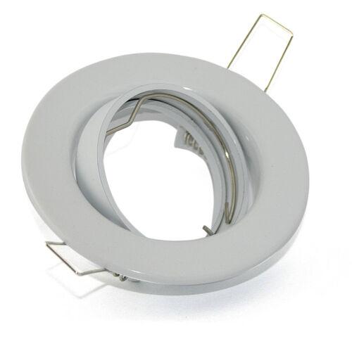 Couvertures installation version lia blanc sans ampoules pivotant gu10 ou mr16