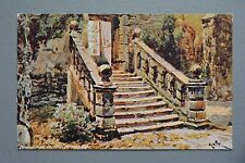 R&L Postcard: Derbyshire Card, Haddon Hall, Davidson Bros Marlborough