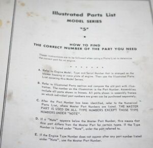 Briggs-amp-Stratton-Illustrated-Parts-LIst-Manual-for-the-Antique-Letter-Series