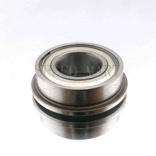 10 x F694zz Mini Metal Double Shielded  Flanged  Ball Bearings 4mm*11mm*4mm