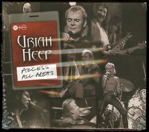 Uriah Heep Live In Moscow Access All Areas Cd Dvd New Ebay