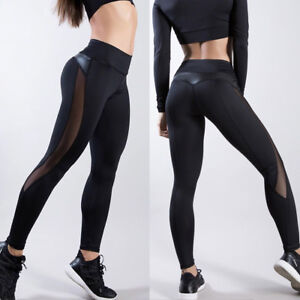 Women-039-s-Gym-Yoga-Fitness-Leggings-Running-Sports-Pants-Workout-Jogging-Trousers