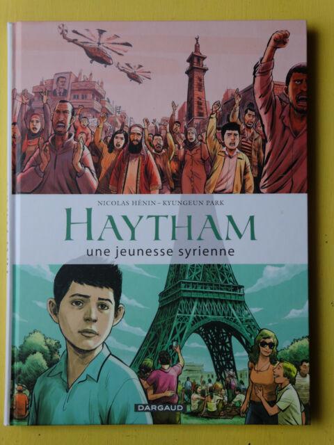 BD haytham une jeunesse syrienne  § EO § hénin park  2016 NEUF ( AD4GF27)