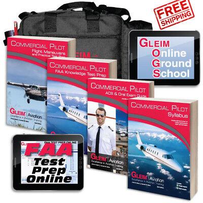 GLEIM KIT CPDL FREE SHIPPING *NEW* Gleim Deluxe Commercial Pilot Kit