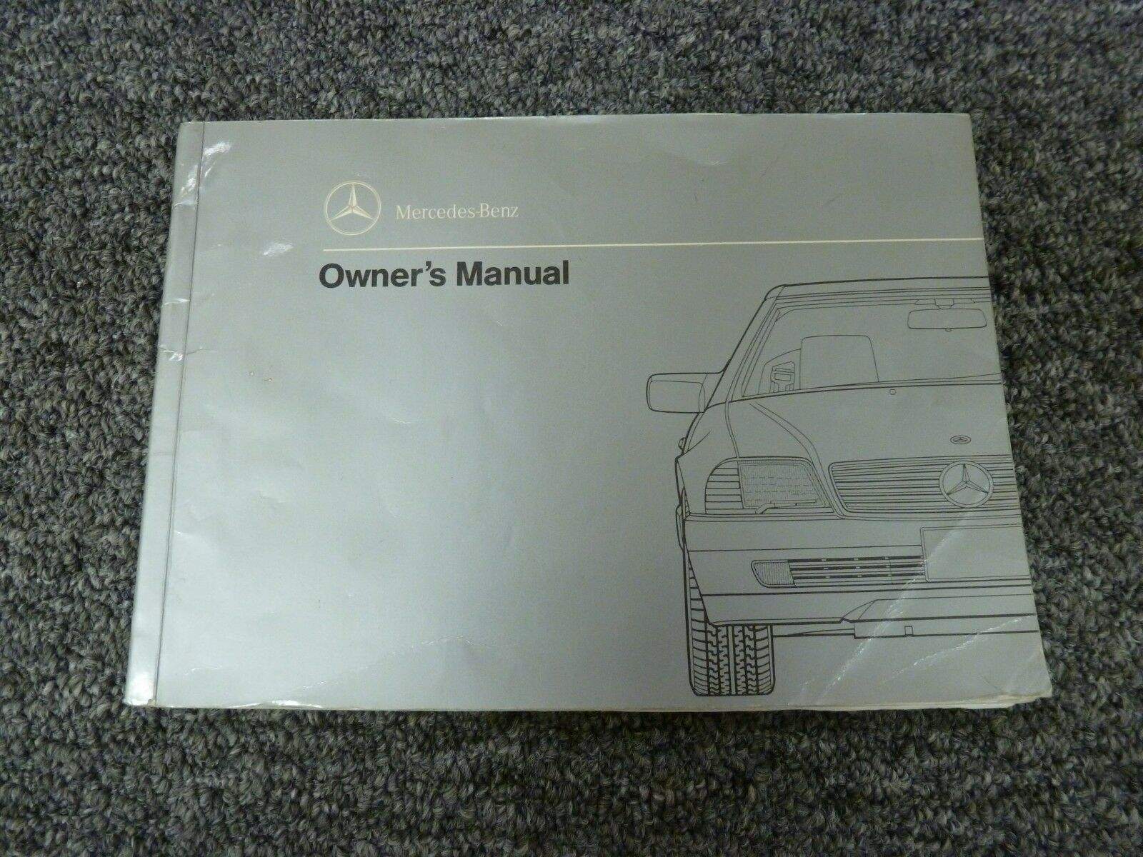1990 Mercedes Benz 300 SL Congreenible & 500 SL Coupe Owner Manual User Guide