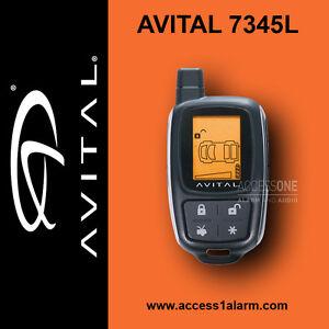 avital 7345l 2 way lcd remote control for avital 5305l alarm remote rh ebay com
