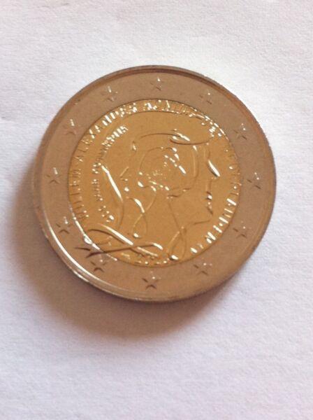 Brillant Piece 2€ Pays Bas 2013 Commemorative 200 Ans Du Royaume à Tout Prix