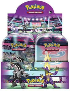 2020-Pokemon-TCG-Galar-POWER-Mini-Tins-Display-Box-10-tins-BRAND-NEW-SEALED