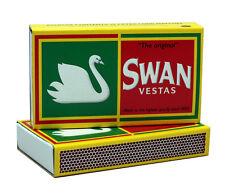 "6 Pack - Swan Vestas ""The Original"" Extra Long Matches - 3 3/4"""