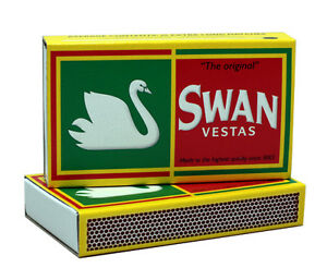 "24 Pack - Swan Vestas ""The Original"" Extra Long Matches - 3 3/4"""