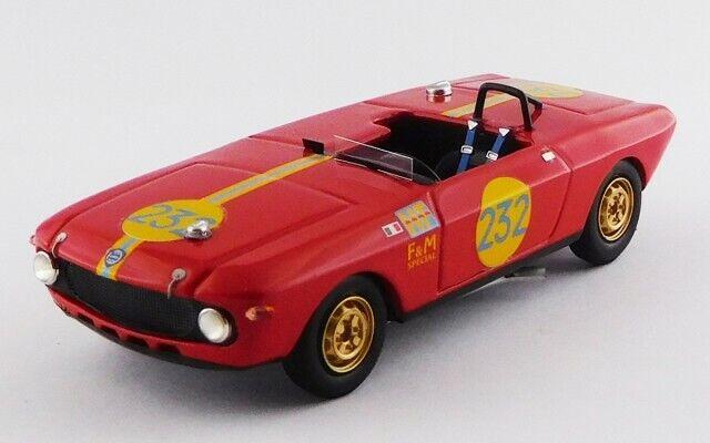 LANCIA FULVIA F&M SPECIAL HF  Targa Florio 1969 - Maglioli   Pint 1 43 9743 BEST