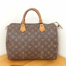 Louis Vuitton Monogram Speedy 30 Purse Boston Bag Authentic Handbag LV