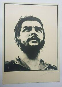 Serigraph by José R. Salas Martínez. ¨Image of Che¨. Original signed
