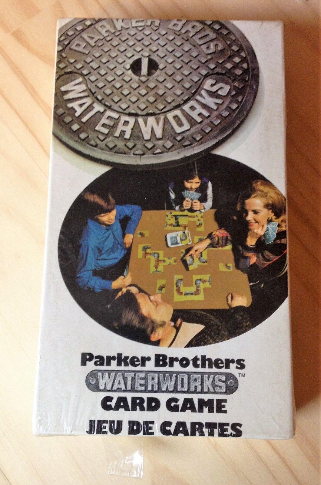 VINTAGE PARKER BROTHERS WATERWORKS 1972 LEAKY LEAKY LEAKY PIPE GAME  STILL SEALED & UNUSED 5696cb