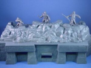 MPC-WWII-Fortification-Bunker-D-Day-1-32-Toy-Soldier-Plastic-Army-Men-FREE-SHIP
