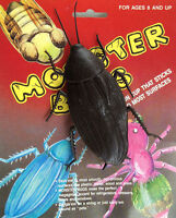 Monster Bug Giant Rubber Roach W/ Suction Cup Halloween Prop Gag Joke Decoration