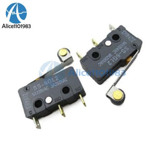 5PCS SS-5GL2 Limit Switch 3 Pins Microswitch
