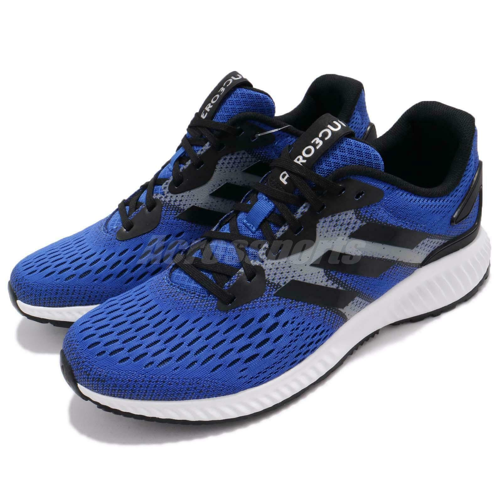 Adidas Aerobounce M bluee Black White Men Running Training shoes Sneakers CG4654