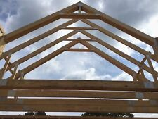 Wood Floor Roof Trusses Clear Span Pitch Engineered All Sizes Available