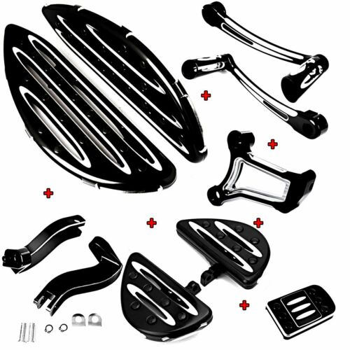 Driver Floorboard/&Heel Toe Shift/&/&Pedal/&Engine Mount For Harley Touring 09-16