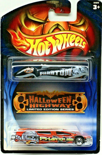 Hot Wheels HALLOWEEN HIGHWAY Limited Edition 2-Pack PHANTASTIQUE//SENTINEL 400
