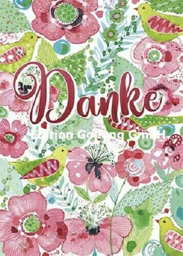 *KERSTIN HESS*Postkarte*Genesung/&Kanne*Danke/&Blumen*Geburtstag/&Lama*10 x15cm**
