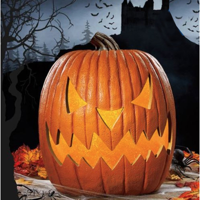 "Halloween giant JACK O 51cm (20"") LED Light Up Pumpkin"