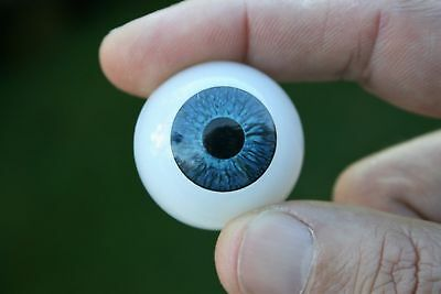Doll Eyes 24 mm 1 pair blue reborn bjd crafts acrylics
