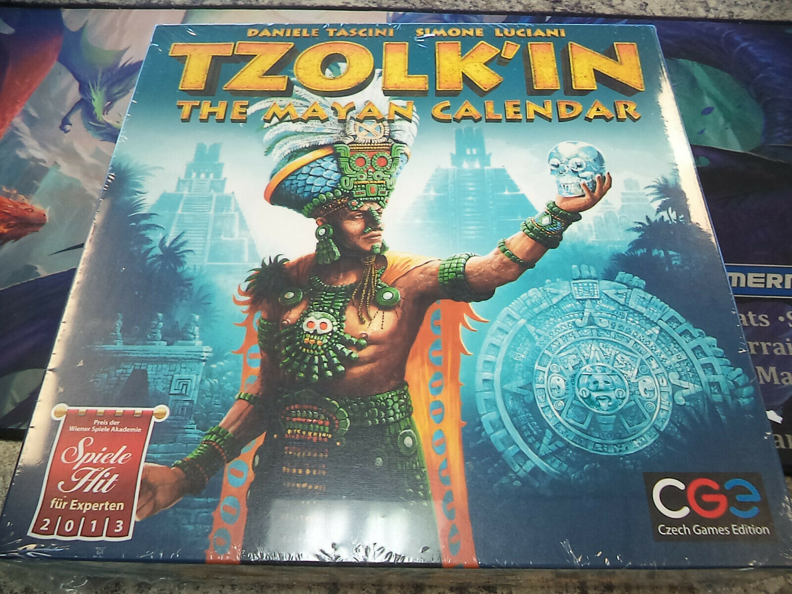 Tzolk-in The Mayan Calender - Czech Games Board Game New
