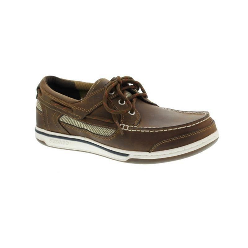 Sebago Triton Three-Eye 810-010 Fettnubuk Walnut