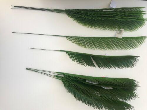 6 x 68 cm//6 x 55 cm Lot de 12 ARTIFICIEL Cycas Palm Leaves tailles assorties
