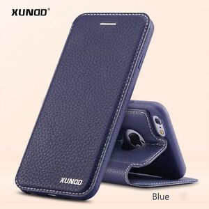 innovative design 2924a 222d5 Details about NEW Genuine XUNDD Leather Flip Cover Case for APPLE IPHONE 6  6S 6 PLUS 6S PLUS