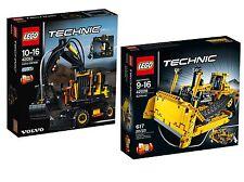 LEGO® Technic 42053+42028 Volvo EW160E +Bulldozer Neu OVP New MISB NRFB