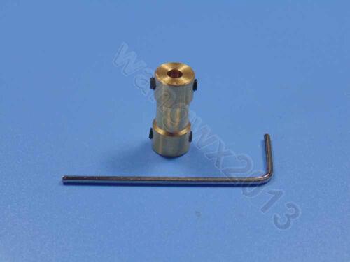 2//2.3//3//3.17//4//5//6mm Motor Drive Bass Shaft Coupling Coupler Connector Sleeve