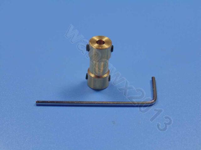 2/2.3/3/3.17/4/5/6mm Motor Drive Bass Shaft Coupling Coupler Connector Sleeve