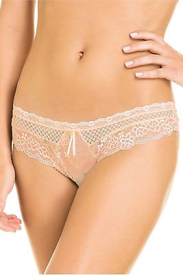 Navy Brazilian Tanga Underwear for Women/'s Cheeky Panties Lace Panty Intimates