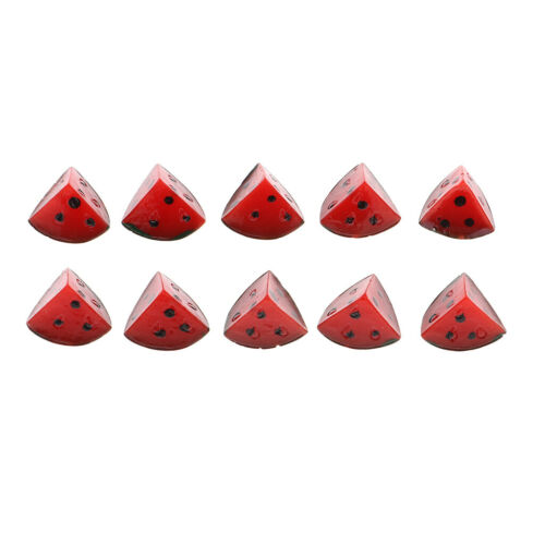 10 stücke Miniatur Gefälschte Wassermelone Künstliche Obst Spielzeug Für