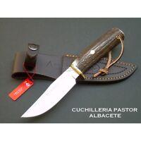 Cuchillo monte Muela BRACO 11A Asta de ciervo - KNIFE - COUTEAU - COLTELLO