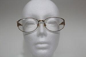 Women-039-s-Silver-amp-Gold-Metal-Eyeglasses-Frame-Italia-Mosaic-Boutique-Butterflies