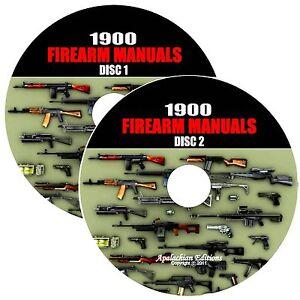 1900-Firearm-Gun-Weapon-Manuals-Rifle-Carbine-Pistol-Revolver-Shotgun-2-DVDs