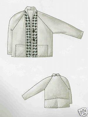 XL Patchwork Designer Schnittmuster Seminole Jacke Gr