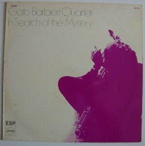 GATO-BARBIERI-QUARTET-In-Search-Of-The-Mystery-LP-Barclay-Free-Jazz-FR